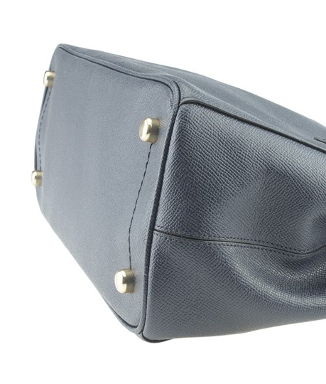 Coach Leather Tote in Blue Image 7