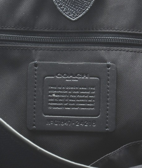 Coach Leather Tote in Blue Image 9