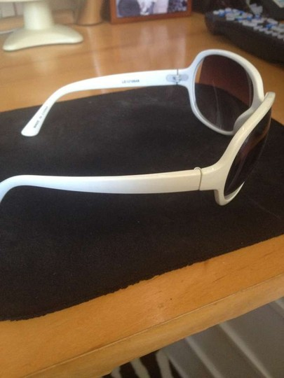 Claire's White Plain Sunglasses