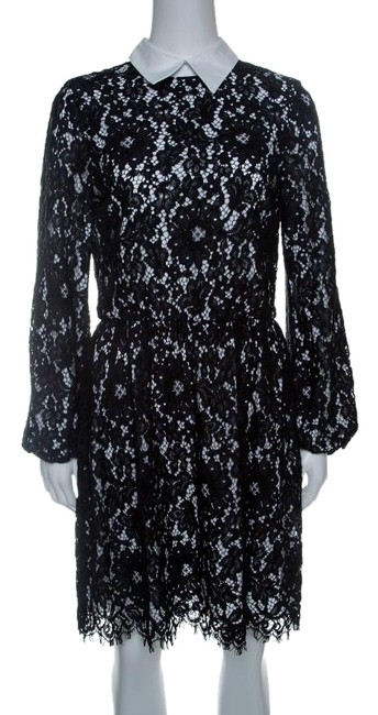 Preload https://img-static.tradesy.com/item/25080113/black-floral-lace-long-sleeve-terisa-short-casual-dress-size-4-s-0-1-650-650.jpg