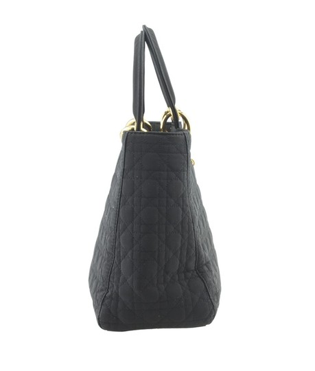 Dior Christian Nylon Tote in Black Image 2