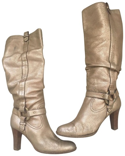 Preload https://img-static.tradesy.com/item/25080366/bally-gold-pebble-leather-heel-tall-harness-bootsbooties-size-us-95-regular-m-b-0-1-540-540.jpg