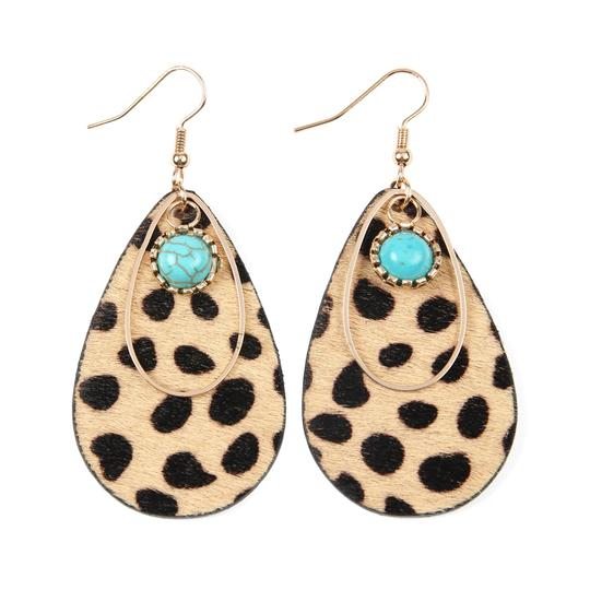 Preload https://img-static.tradesy.com/item/25080535/leopard-animal-print-teardrop-shape-earrings-0-0-540-540.jpg
