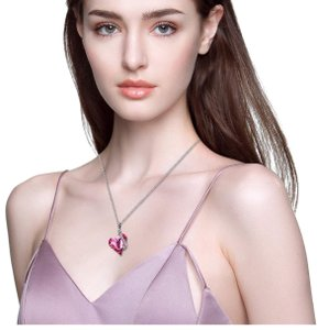 Menton Ezil Menton Ezil Love Heart Pendant Necklace