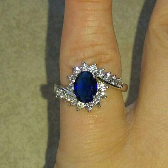 Unknown Blue Sapphire Ring - Women's US Size: (6) Image 1
