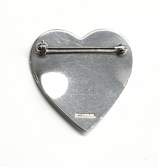 Tiffany & Co. GORGEOUS!! Vintage Tiffany & Co. Sterling Silver Heart Brooch Image 1