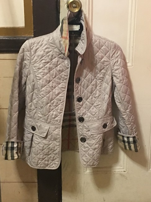 Burberry Brit Taupe Jacket Image 3