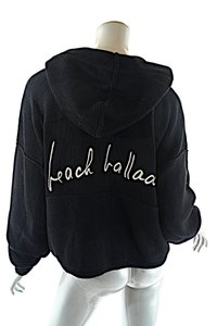 Sonia Rykiel Insccription Beac Ballad Hoodie Sweater