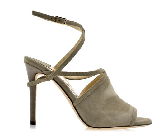 Jimmy Choo Light Khaki Sandals Image 1