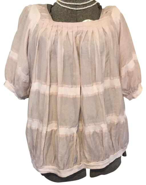 Preload https://img-static.tradesy.com/item/25080852/alythea-pale-pink-lightweight-boutique-pullover-blouse-size-6-s-0-1-650-650.jpg