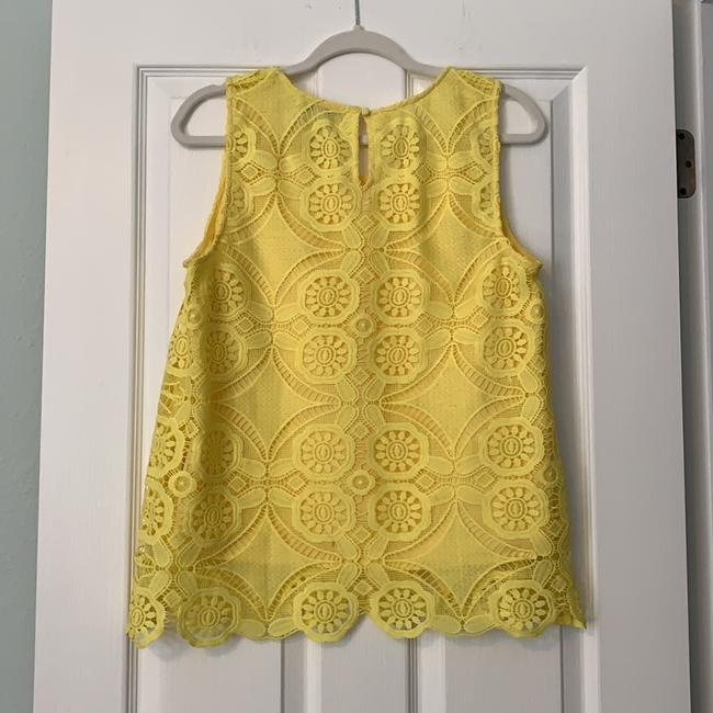 Skies Are Blue Spring Sleeveless Top yellow Image 1