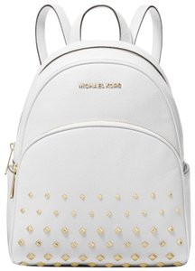 41815c7afcca Michael Kors Abbey Medium Studded Abbey Leather Shoulder Backpack