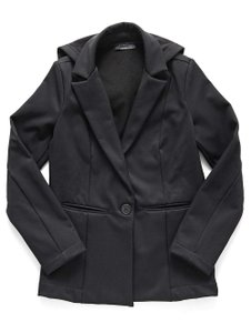 Lanston Casual Water-resistant Fall Spring Winter Carbon Blazer