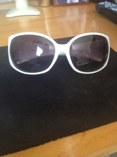 Claire's White Embellished Sunglasses
