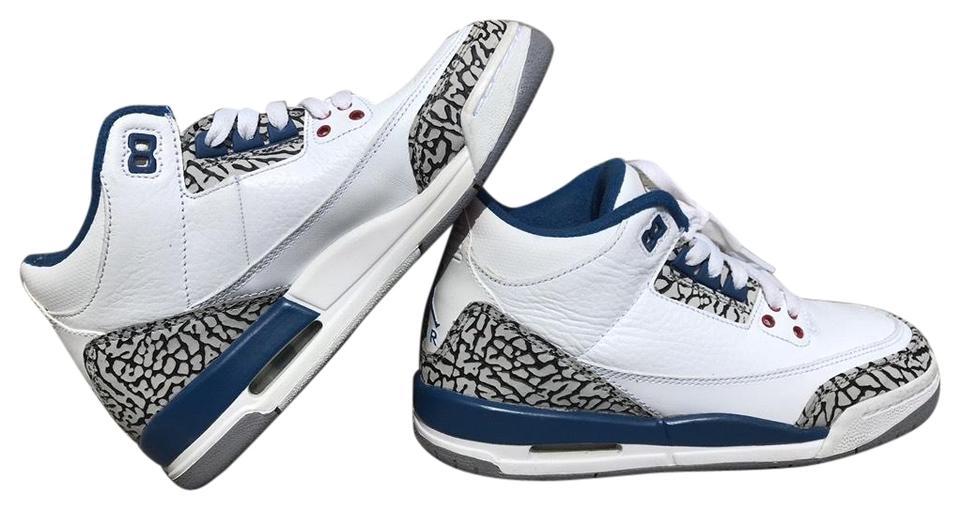 first rate e6979 d4770 True Blue 3's Sneakers