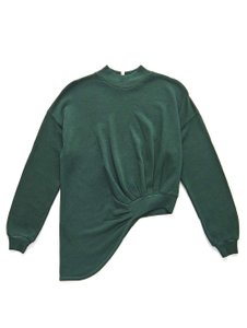 Lanston Edgy Casual Fall Winter Sweater