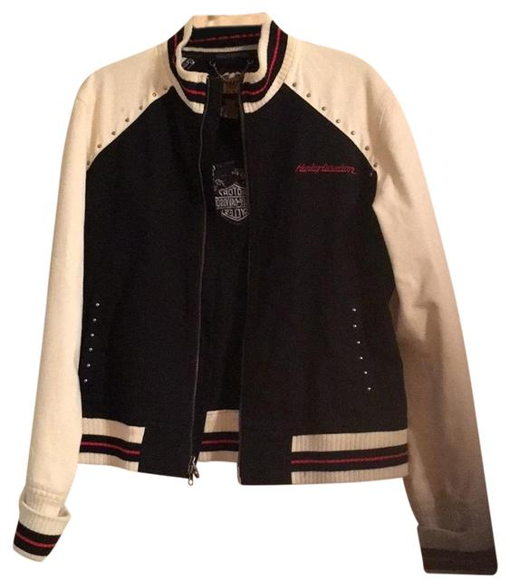 Item - Black and Cream Rn103819 Jacket Size 14 (L)