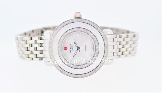 Michele Cloette Stainless Mother of Pearl Diamond Dial MWW20E000001 Image 10