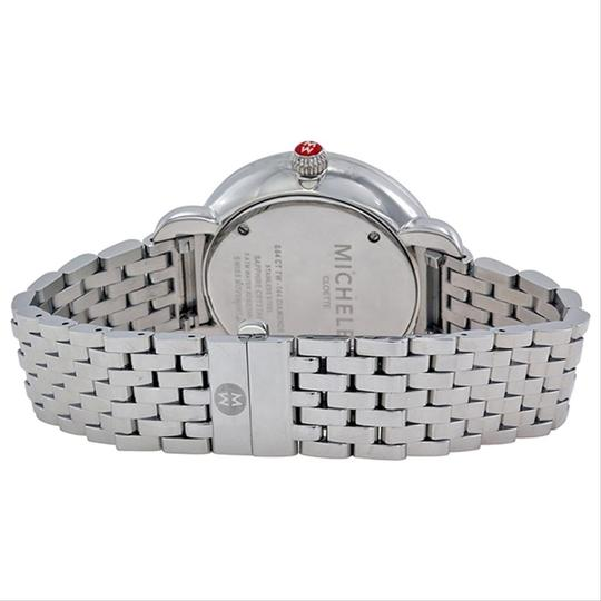 Michele Cloette Stainless Mother of Pearl Diamond Dial MWW20E000001 Image 3