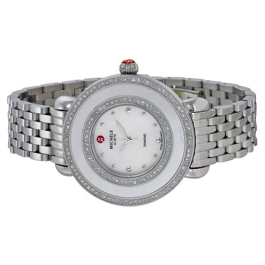 Michele Cloette Stainless Mother of Pearl Diamond Dial MWW20E000001 Image 5