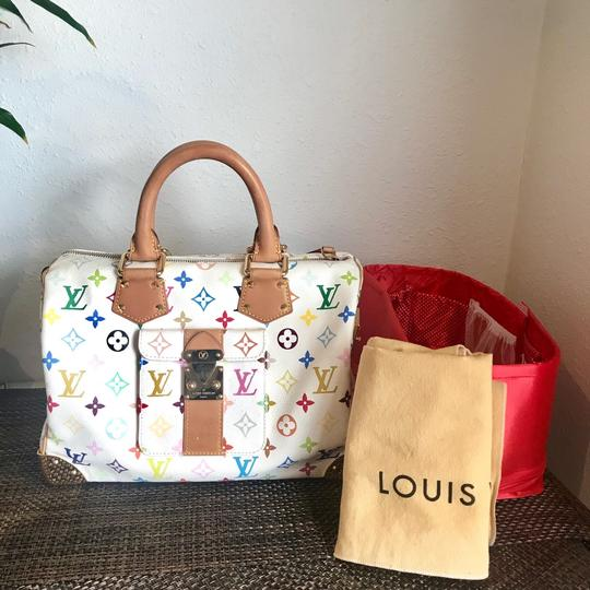 Louis Vuitton Satchel in white Image 1