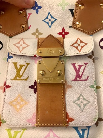 Louis Vuitton Satchel in white Image 10