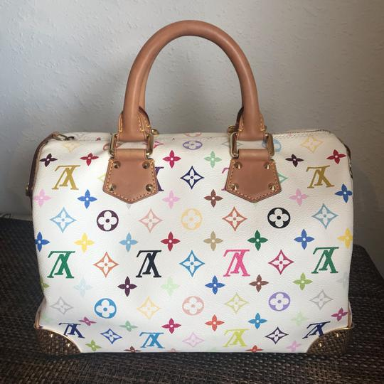 Louis Vuitton Satchel in white Image 2
