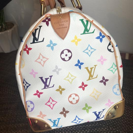 Louis Vuitton Satchel in white Image 4