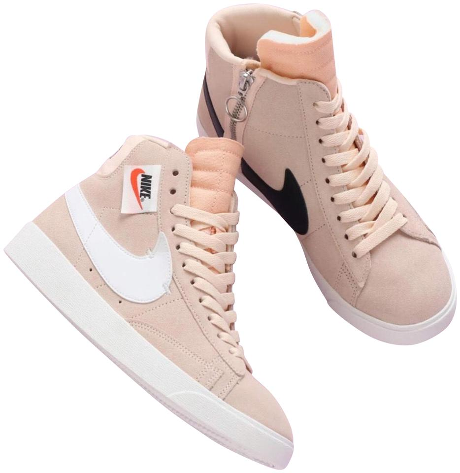 83a4624ddee Nike Beige Blazer Mid Rebel Suede Fashion Sneakers Size US 11 Regular (M, B)