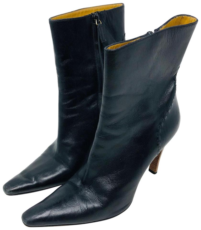 Black Leather Bootsbooties