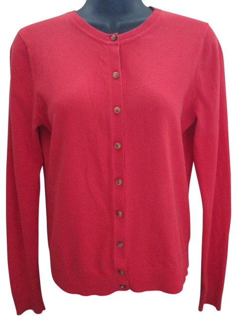 Item - Red Cardigan Size 6 (S)
