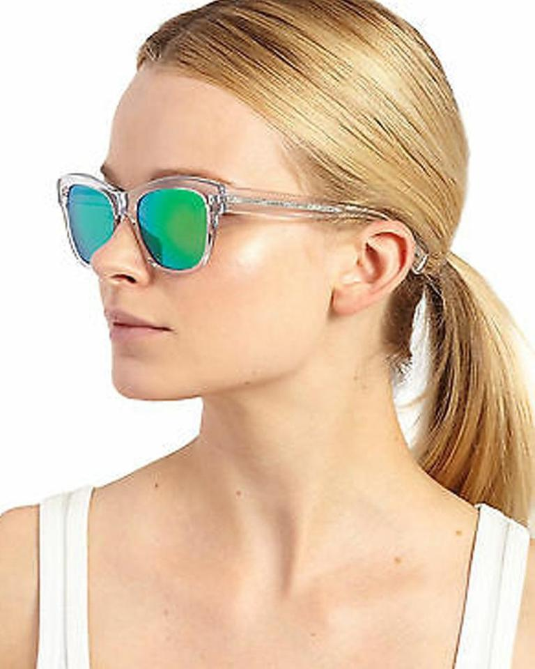 50d1f9740 Oliver Peoples Clear Blue & Green Gradient Sofee 5233-53 Sunglasses ...