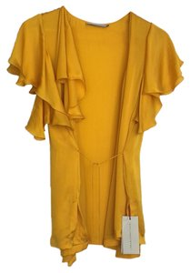 Stella McCartney Top mustard