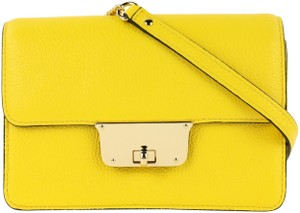MILLY Leather Spring Cross Body Bag