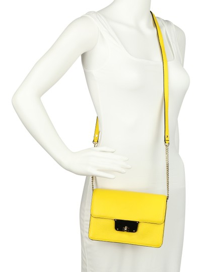 MILLY Leather Spring Cross Body Bag Image 11