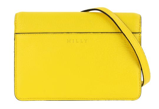 MILLY Leather Spring Cross Body Bag Image 2