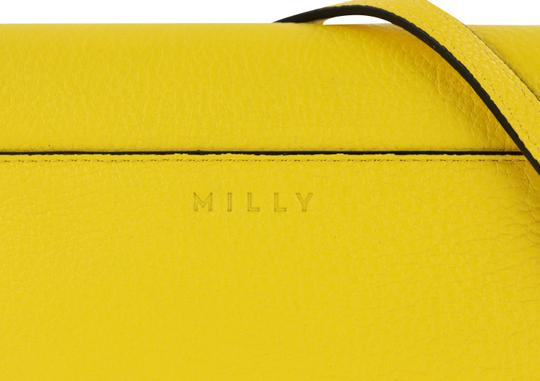 MILLY Leather Spring Cross Body Bag Image 7