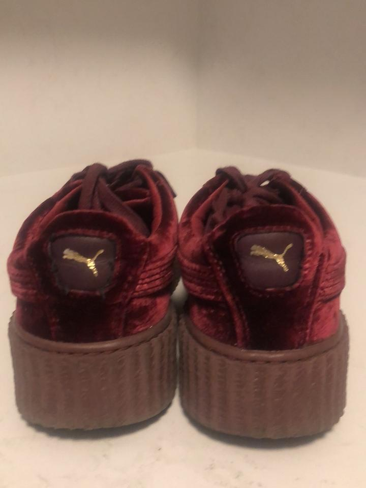 purchase cheap e84b3 478c2 Burgundy Sneakers
