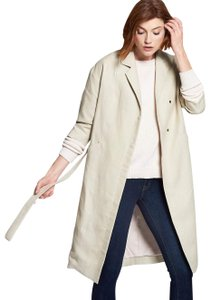 Emerson Fry Classic Spring Preppy Chic Polished Trench Coat