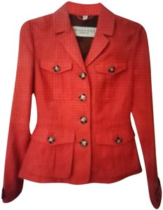 Burberry Red with orange hint Jacket