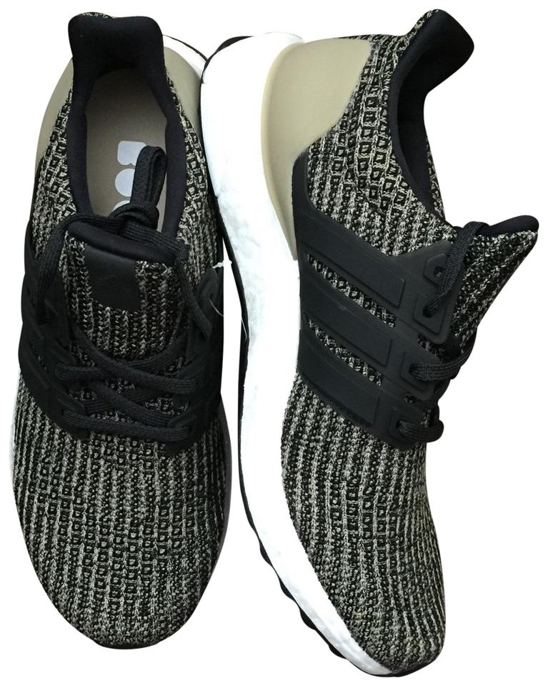 low priced 34562 f8d17 adidas Black/Black/Raw Gold Ultra Boost Youth Women's Sneakers Size US 8.5  Regular (M, B)