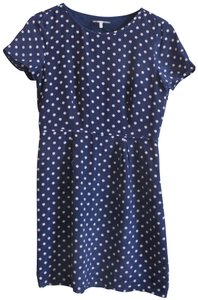 82f345f93bdade Broadway   Broome short dress Navy and White Polka Dots Silk on Tradesy