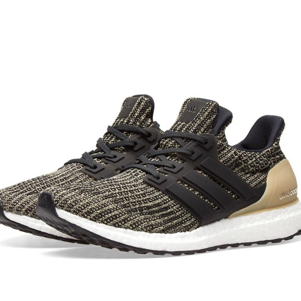 a7a82b69655 adidas Black Black Raw Gold Ultra Boost Youth 6.5 Women s Sneakers Size US  8 Regular (M