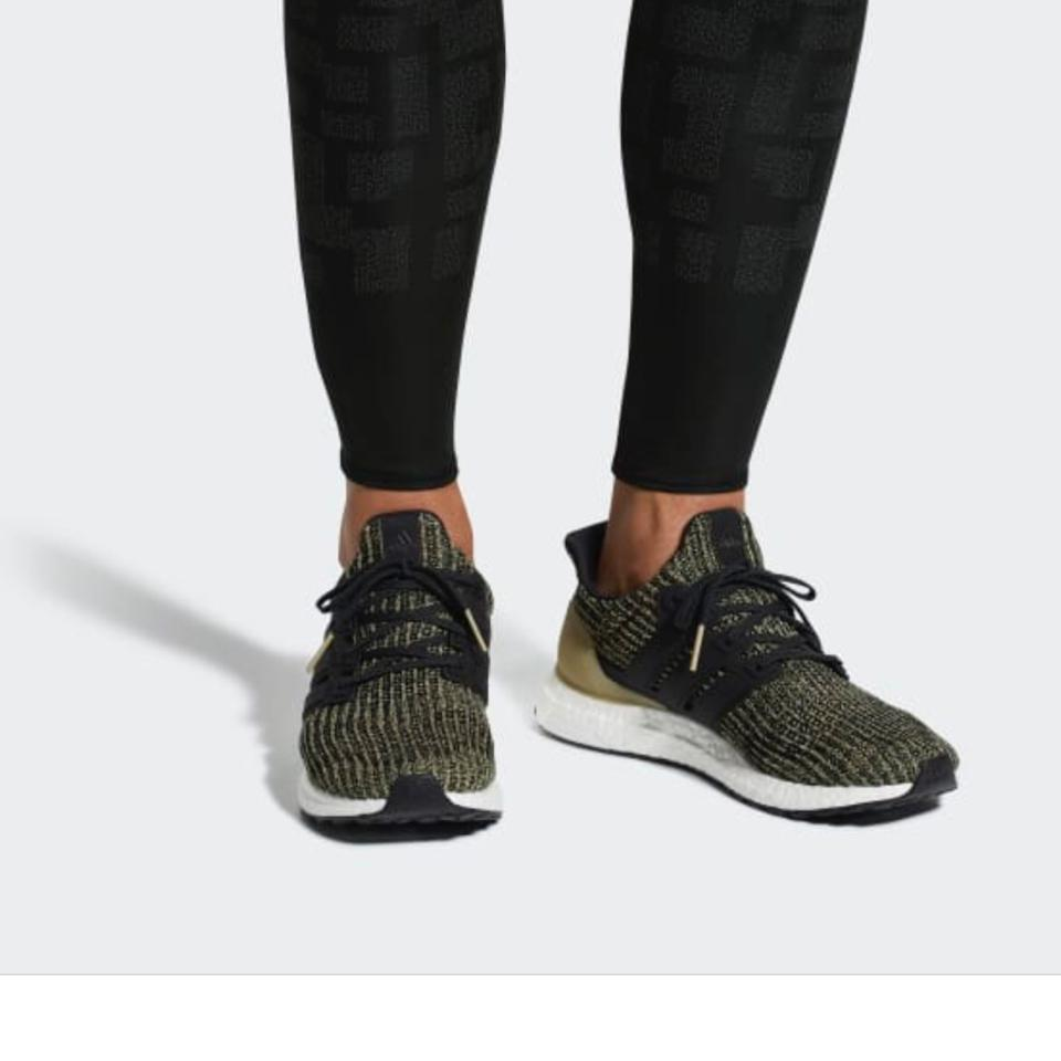 4f32d51d1d3 adidas Black Black Raw Gold Ultra Boost Youth 6.5 Women s Sneakers ...
