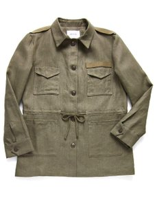 a1bf7f5bd932 Emerson Fry Fall Winter Casual Chic Vintage Military Jacket