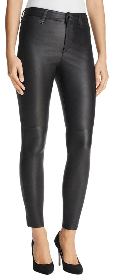 enjoy clearance price classcic colours and striking Black Real Leather Pants