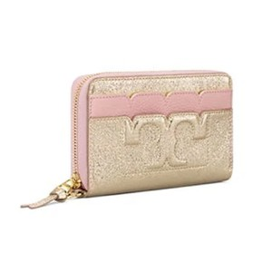 Tory Burch New Tory Burch colorblock matte and metallic leather continental walle