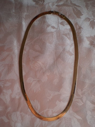 Other FLAT HERRINGBONE CHAIN NECKLACE