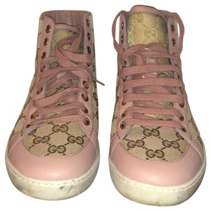 Gucci Brown and pink Athletic