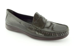 Cole Haan Nike Air Driver Weekender Slip On Olive Green Flats